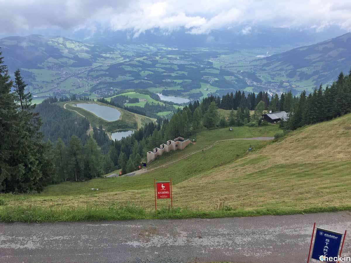 8 escursioni da fare in Tirolo - La Streif di Kitzbühel