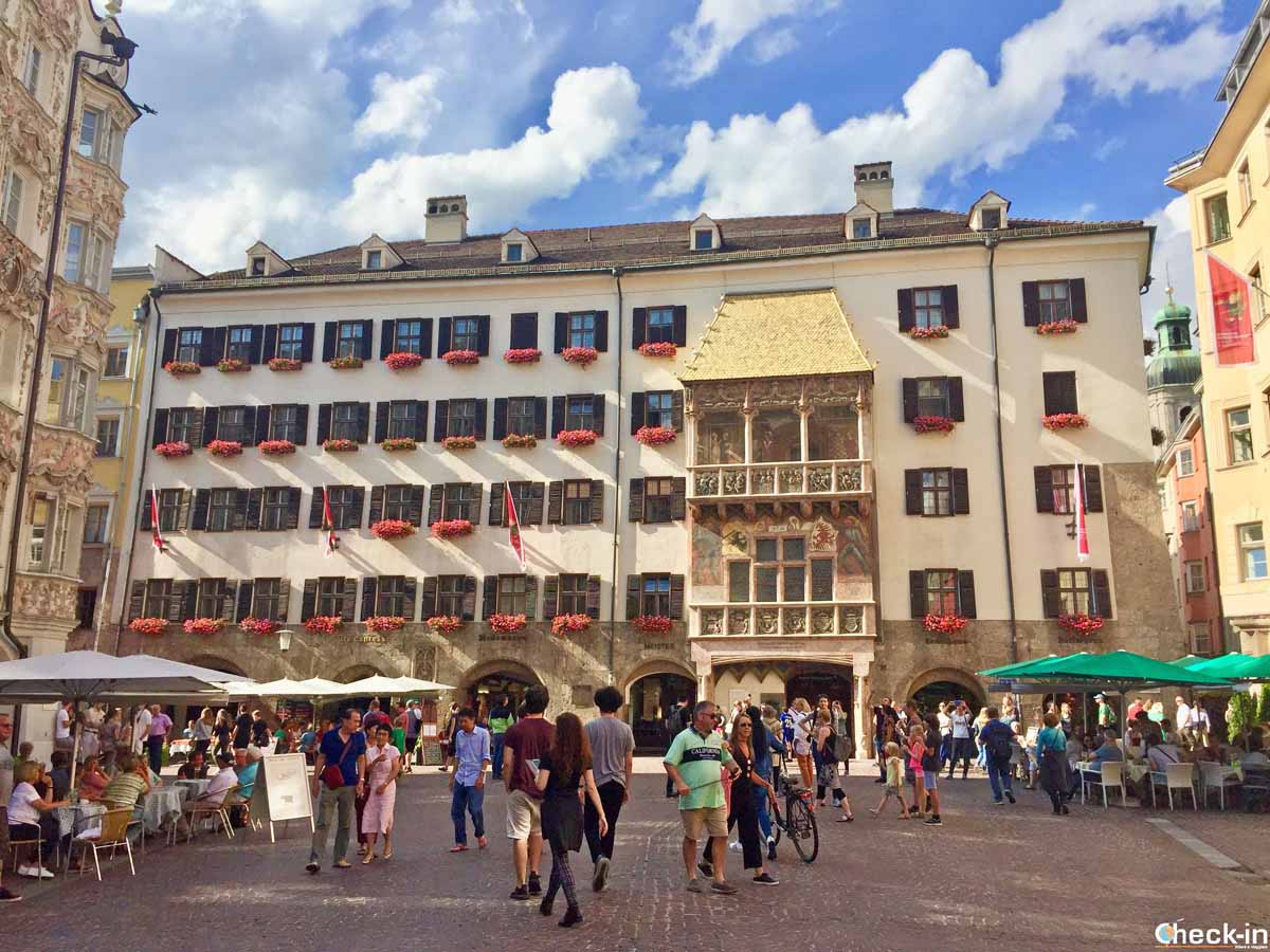 Cosa vedere a Innsbruck: il Goldenes Dachl