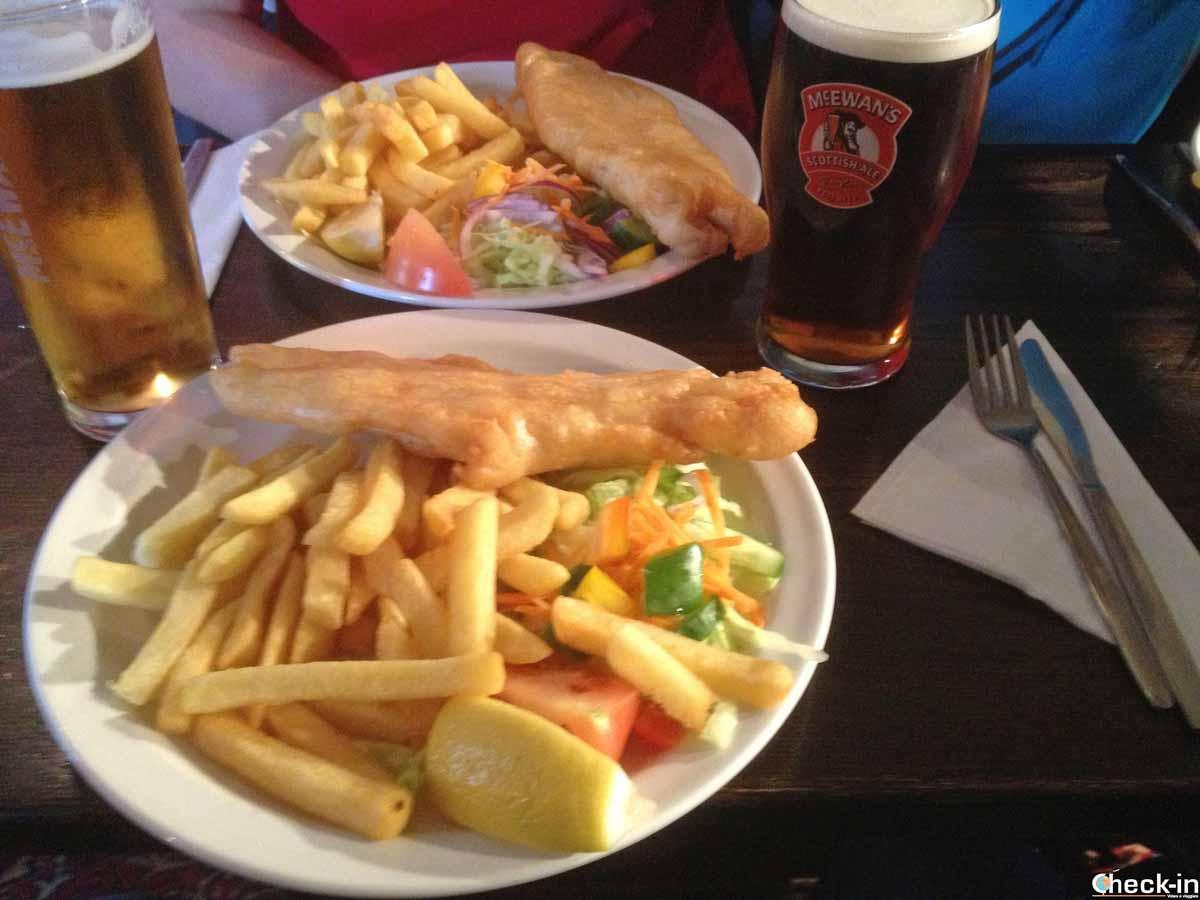 Dove assaggiare un fish & chips a Edimburgo
