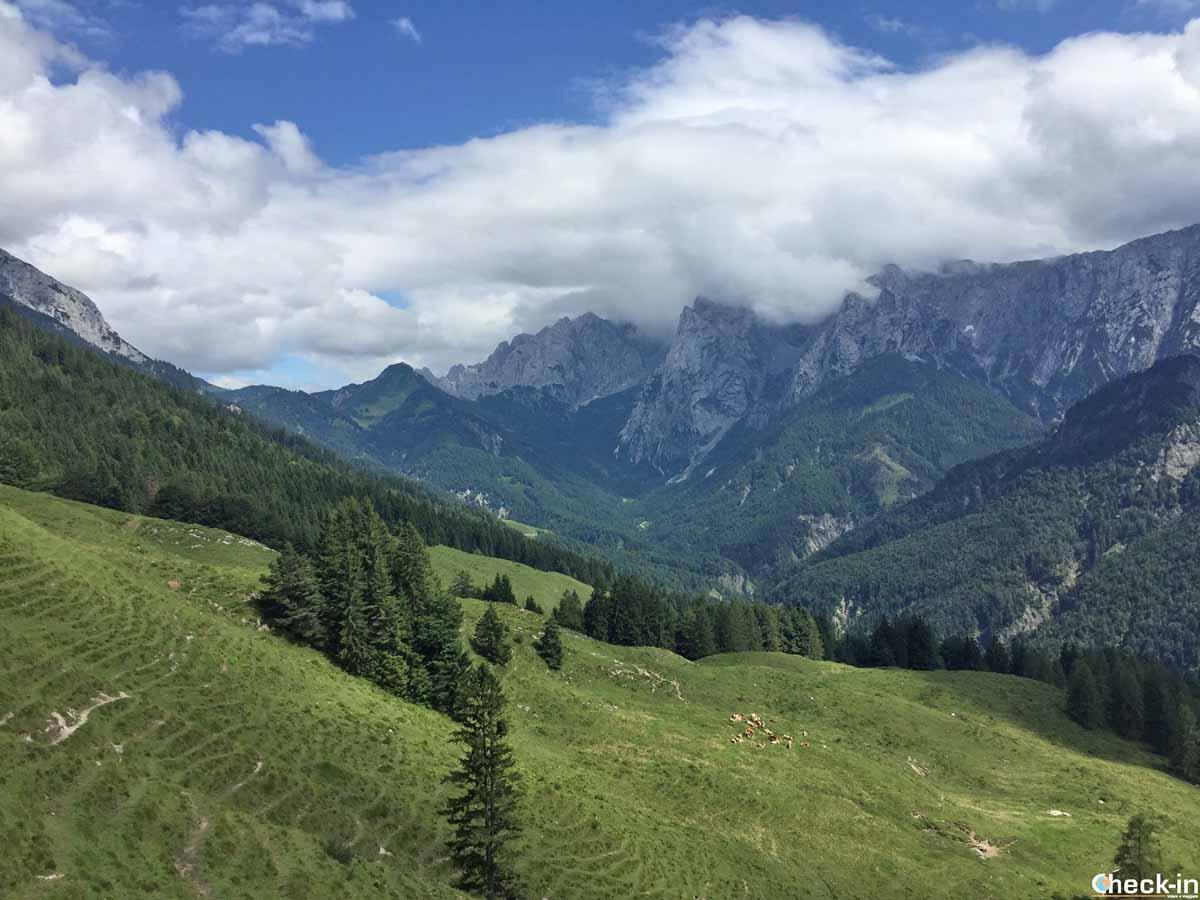 Escursione nel Kaisertal vicino a Kufstein - Tirolo, Austria