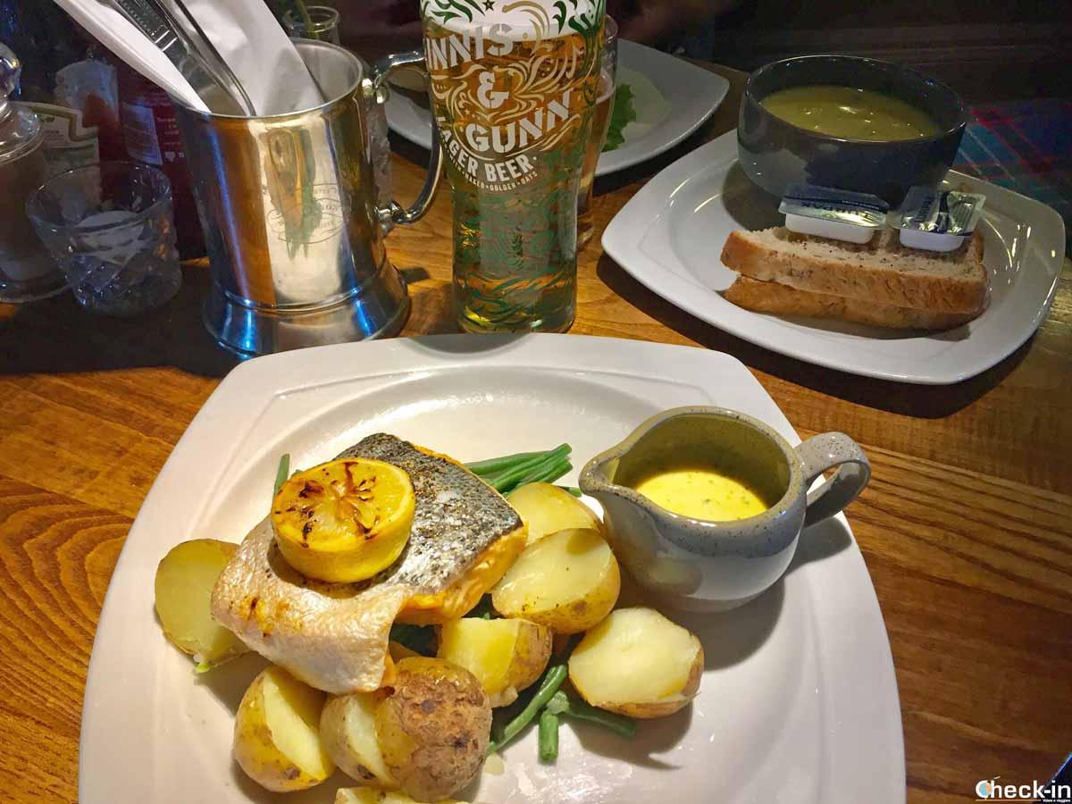 Dove mangiare bene e tipico a Edimburgo: Deacon Brodie's Tavern