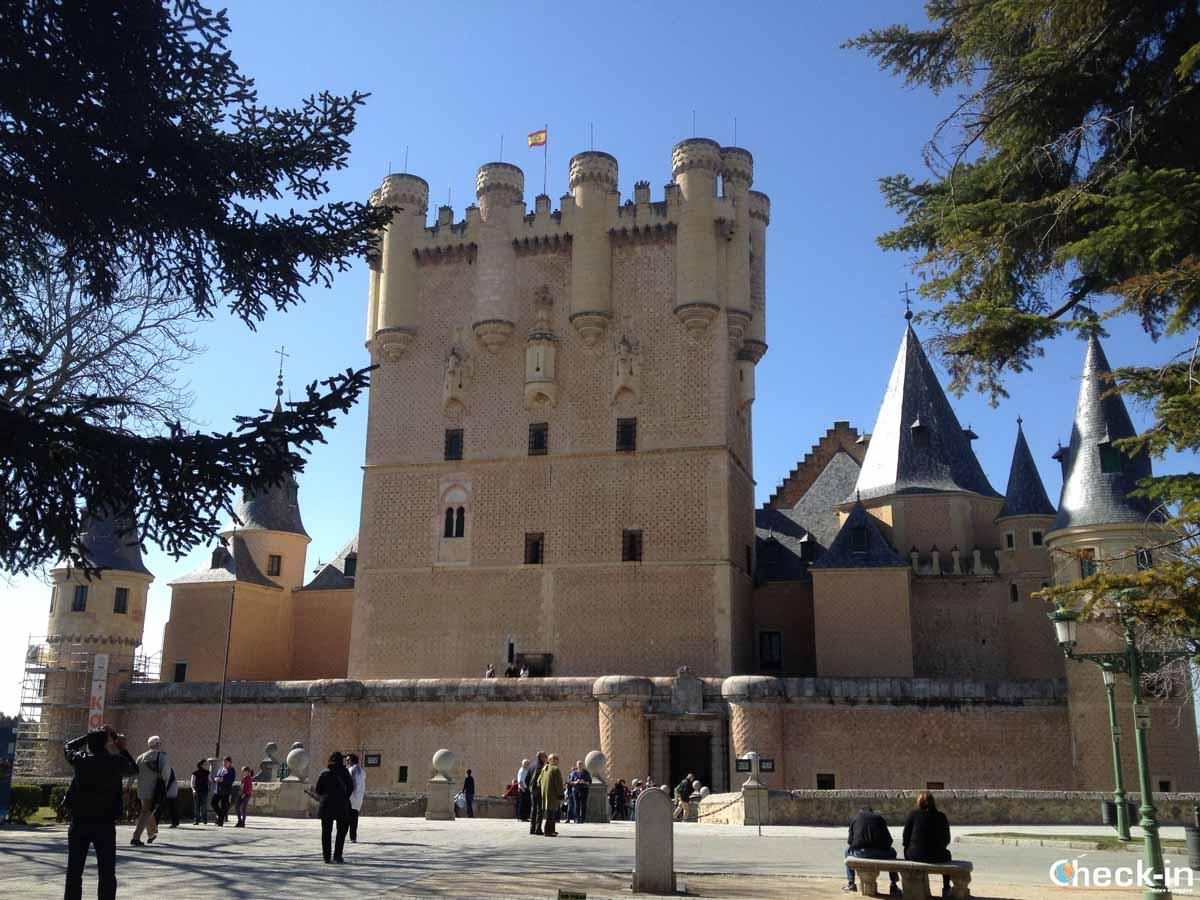 Visita guidata dell'Alcazar di Segovia da Madrid