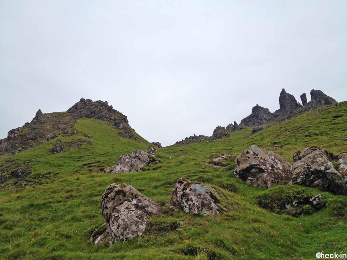 Trekking a Skye nella Trotternish Peninsula