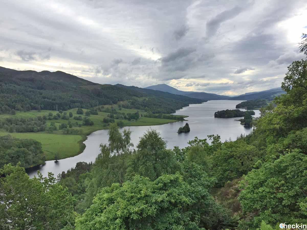 Escursione da Edimburgo nel Perthshire - Queen's View vicino a Pitlochry