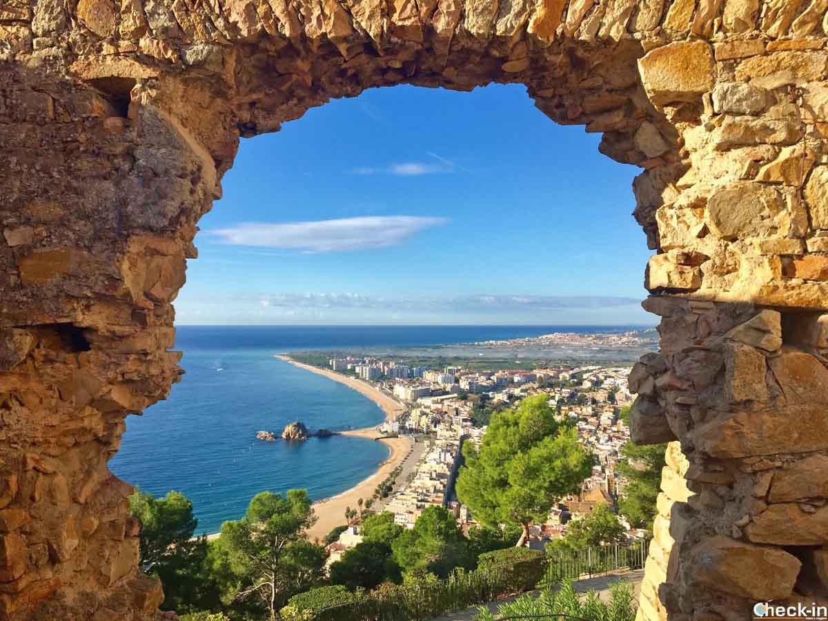 Salita al Castell Sant Joan di Blanes