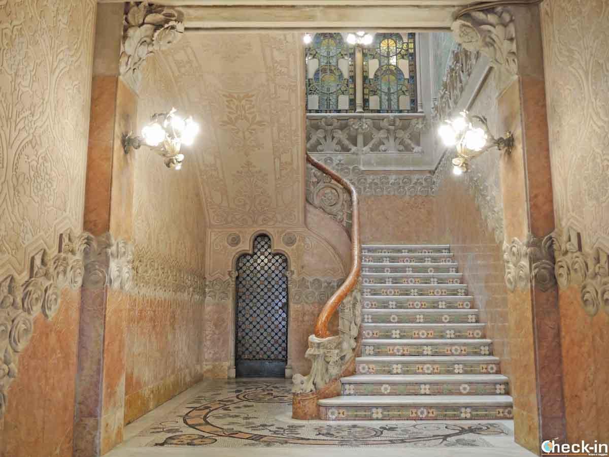 Edifici modernisti in Spagna: Casa Navàs a Reus (Tarragona)
