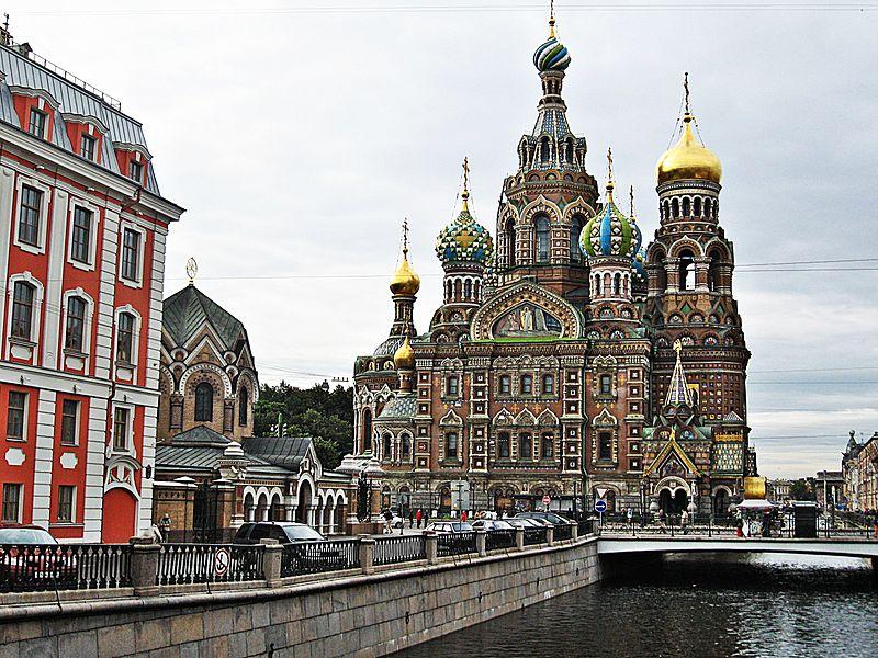 La Chiesa del Sangue Versato a San Pietroburgo