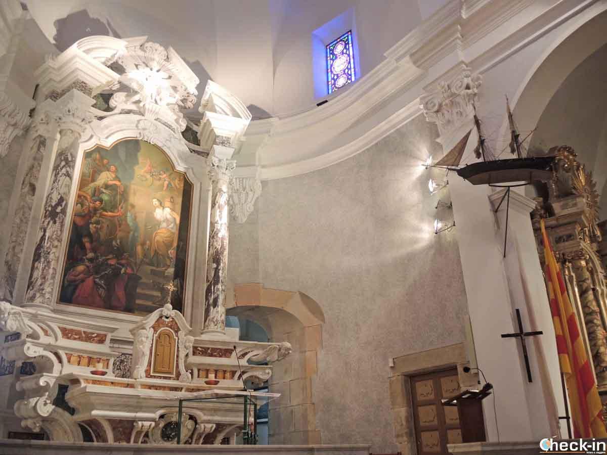 Eremo dedicato a Santa Cristina a Lloret de Mar