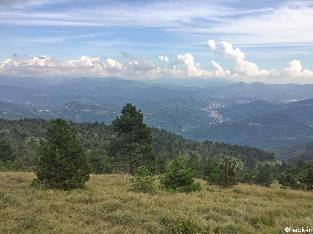 Circuito ad anello ai Laghi del Gorzente (Liguria)