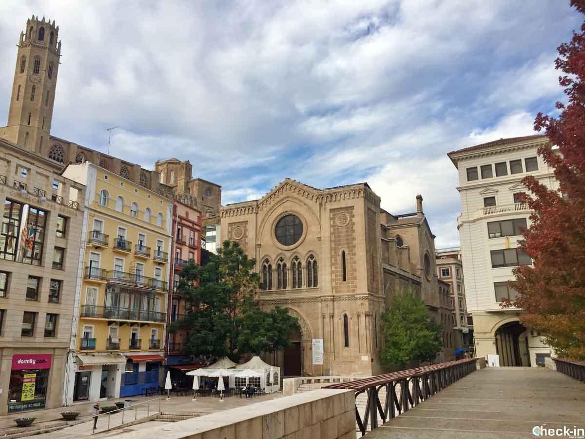 Cosa vedere a Lleida (Catalogna) - Plaça de Sant Joan
