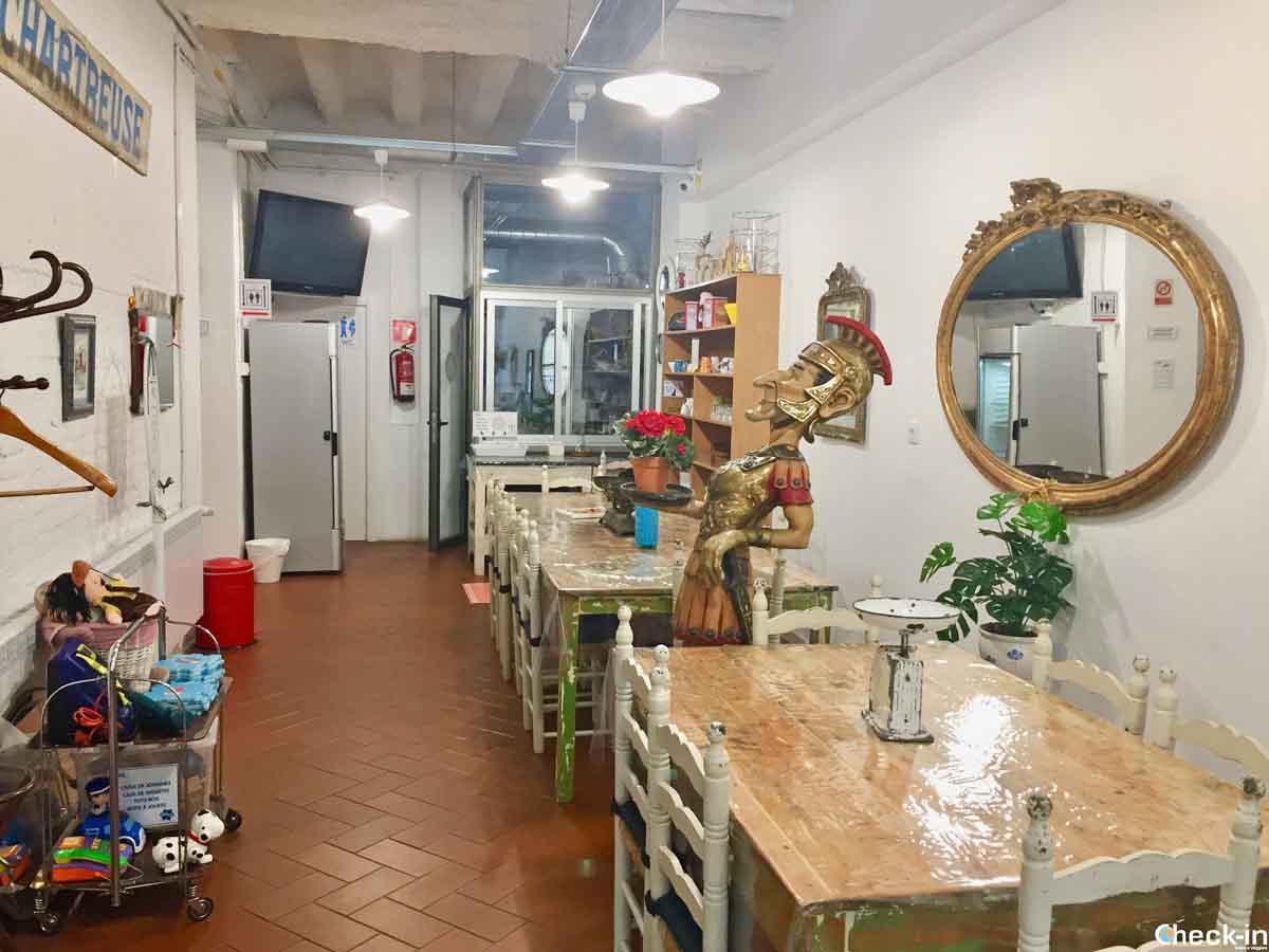 Ambiente comune a disposizione degli ospiti - Hotel Pigal a Tarragona