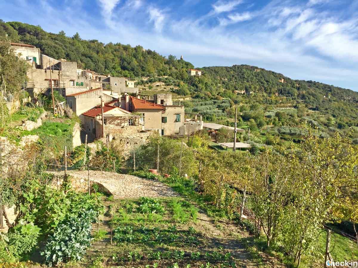 Itinerario per Verezzi - Borgata Poggio