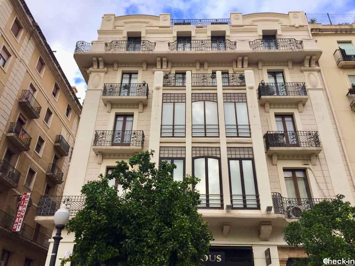 Architettura modernista in Spagna: Casa Bofarull a Tarragona