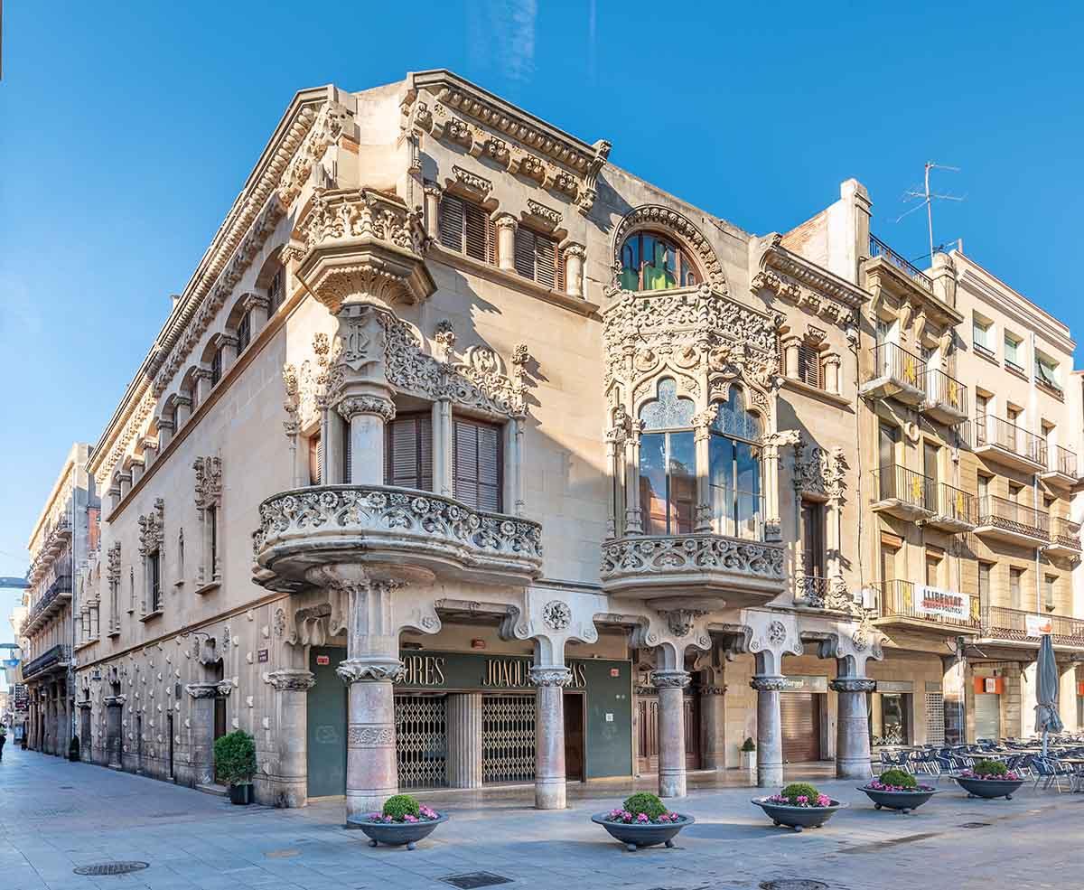 Cosa vedere a Reus: Casa navàs (Catalogna)