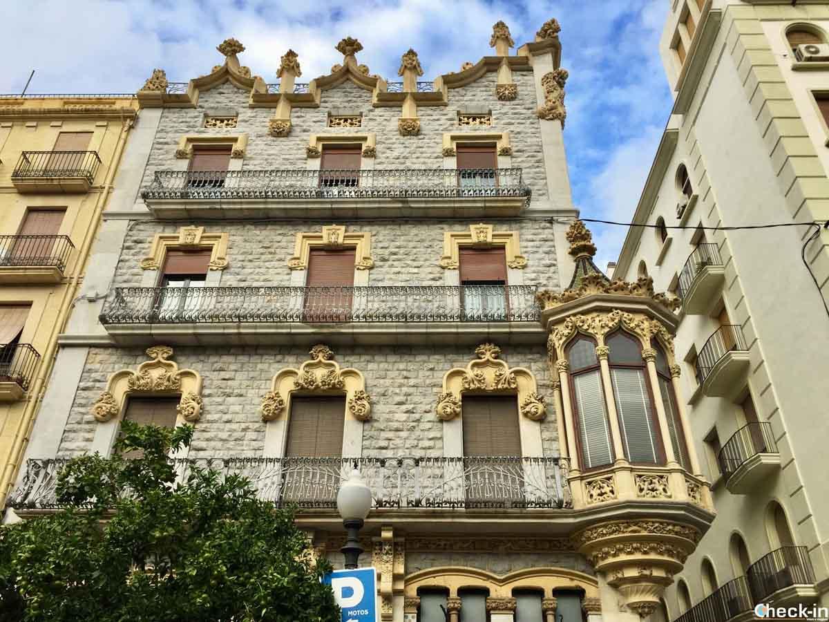 Edifici modernisti a Tarragona: Casa Salas
