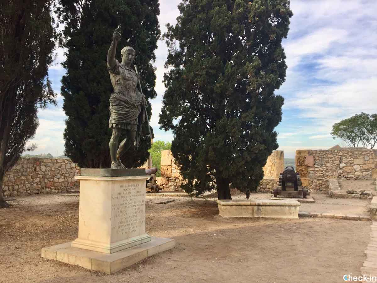 Resti impero romano in Spagna: mura di Tarragona