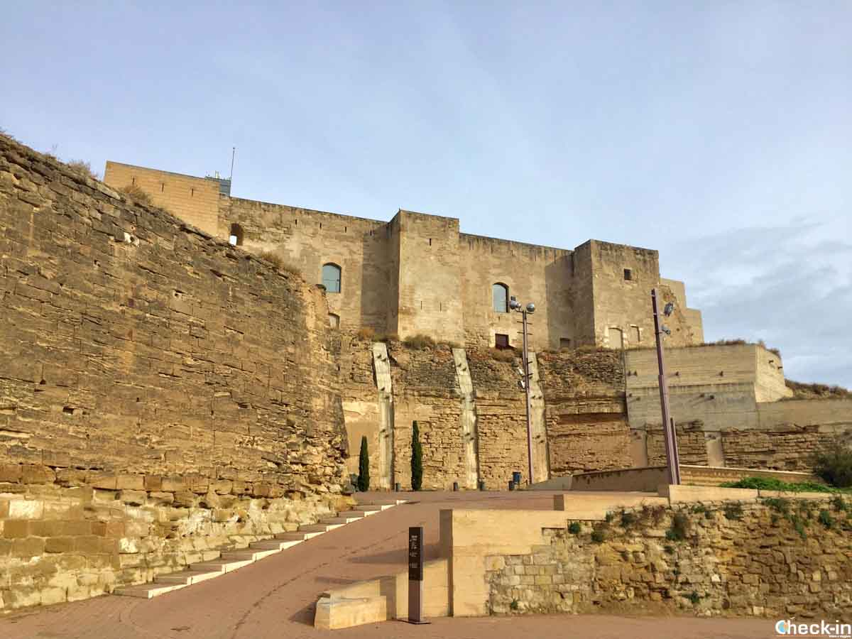 Il Castello Del Re a Lleida (Catalogna)
