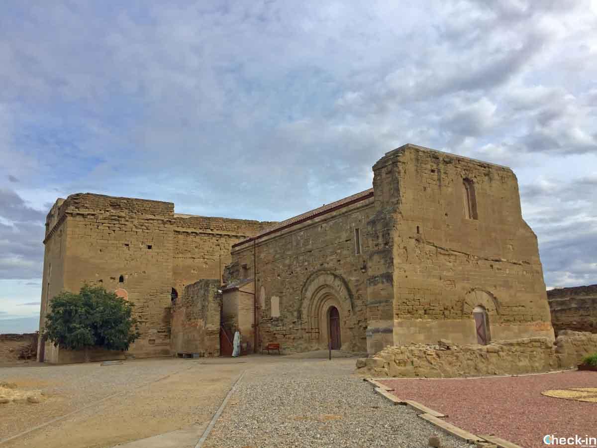 Castello di Gardeny, vicino al centro storico di Lleida (Catalogna)