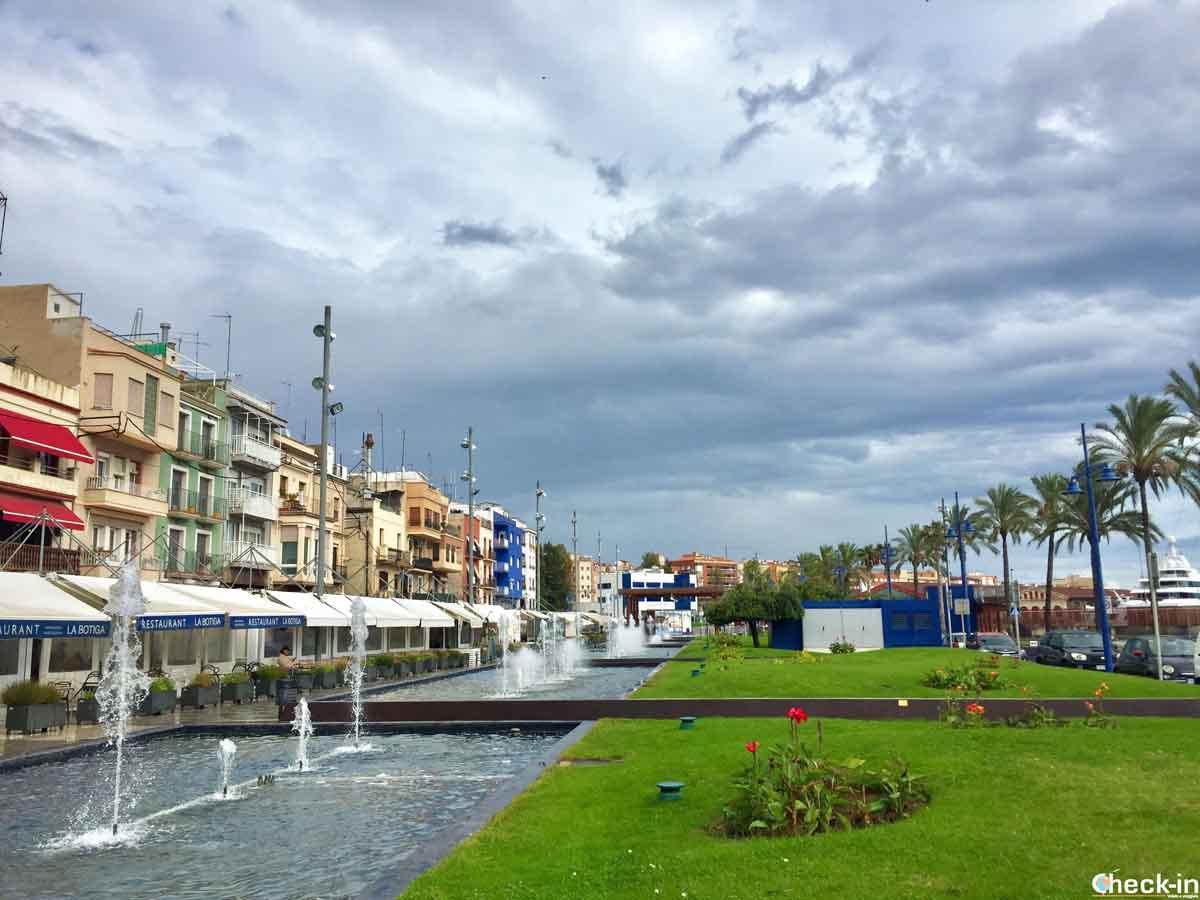 Luoghi caratteristici di Tarragona: quartiere dei pescatori di Serrallo