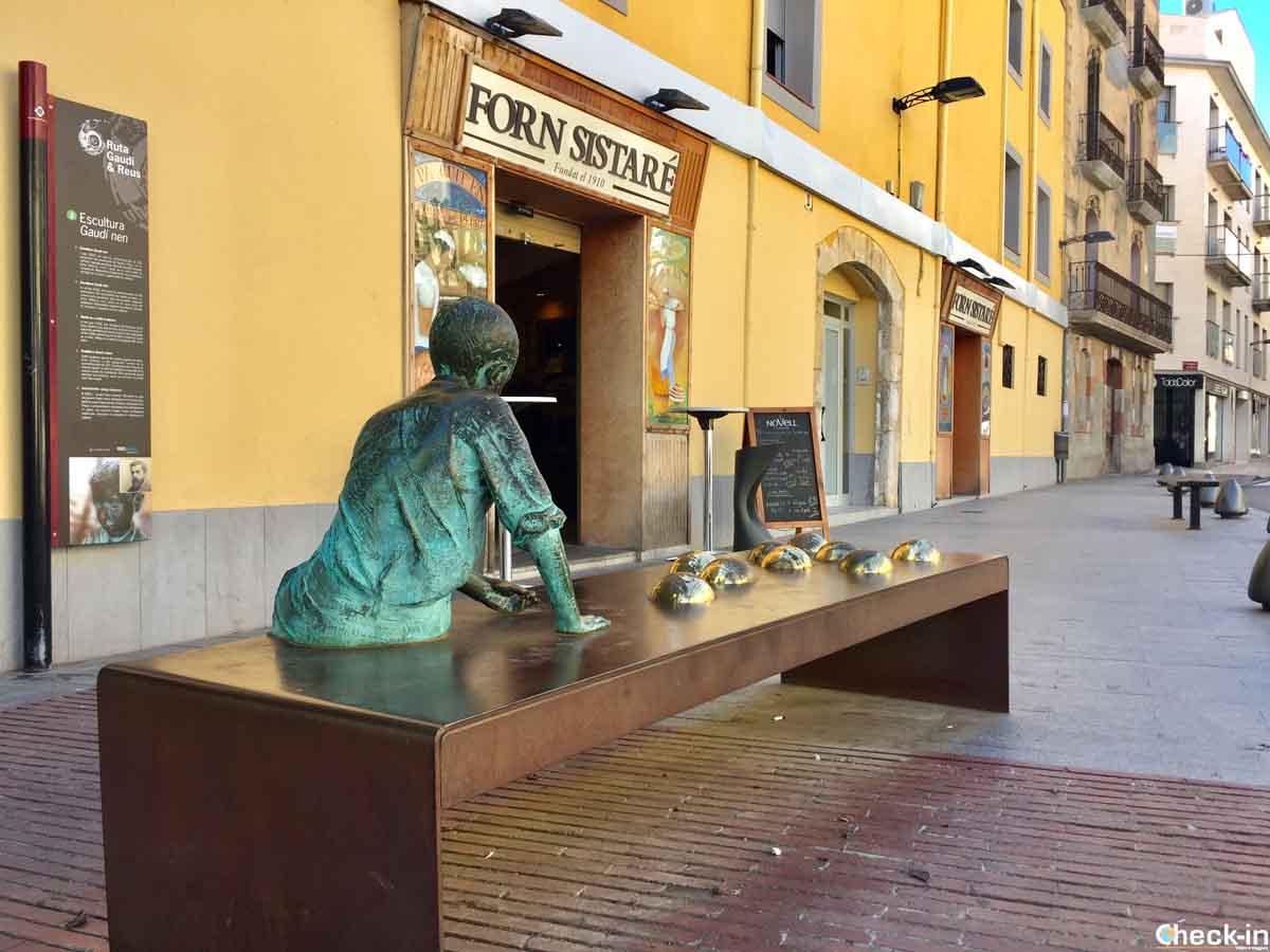 Reus, città natale di Antoni Gaudí (Catalogna)