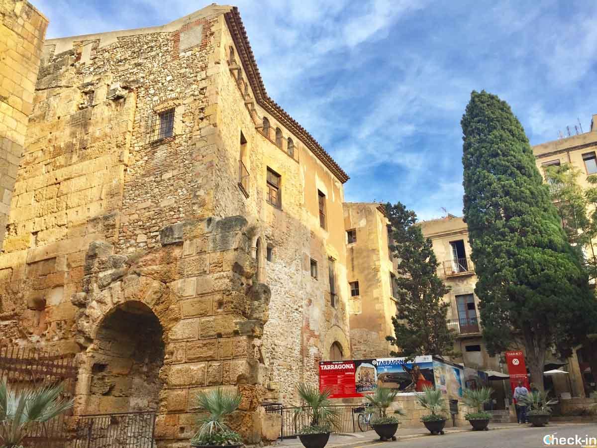 Cosa vedere nel centro storico di Tarragona: Plaça del Pallol