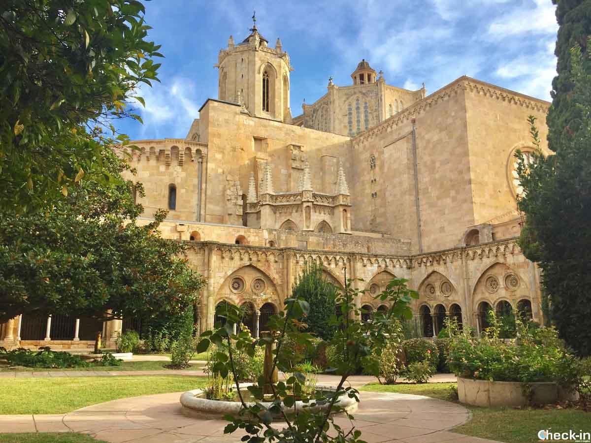 Chiostro della Cattedrale di Tarragona (Spagna)