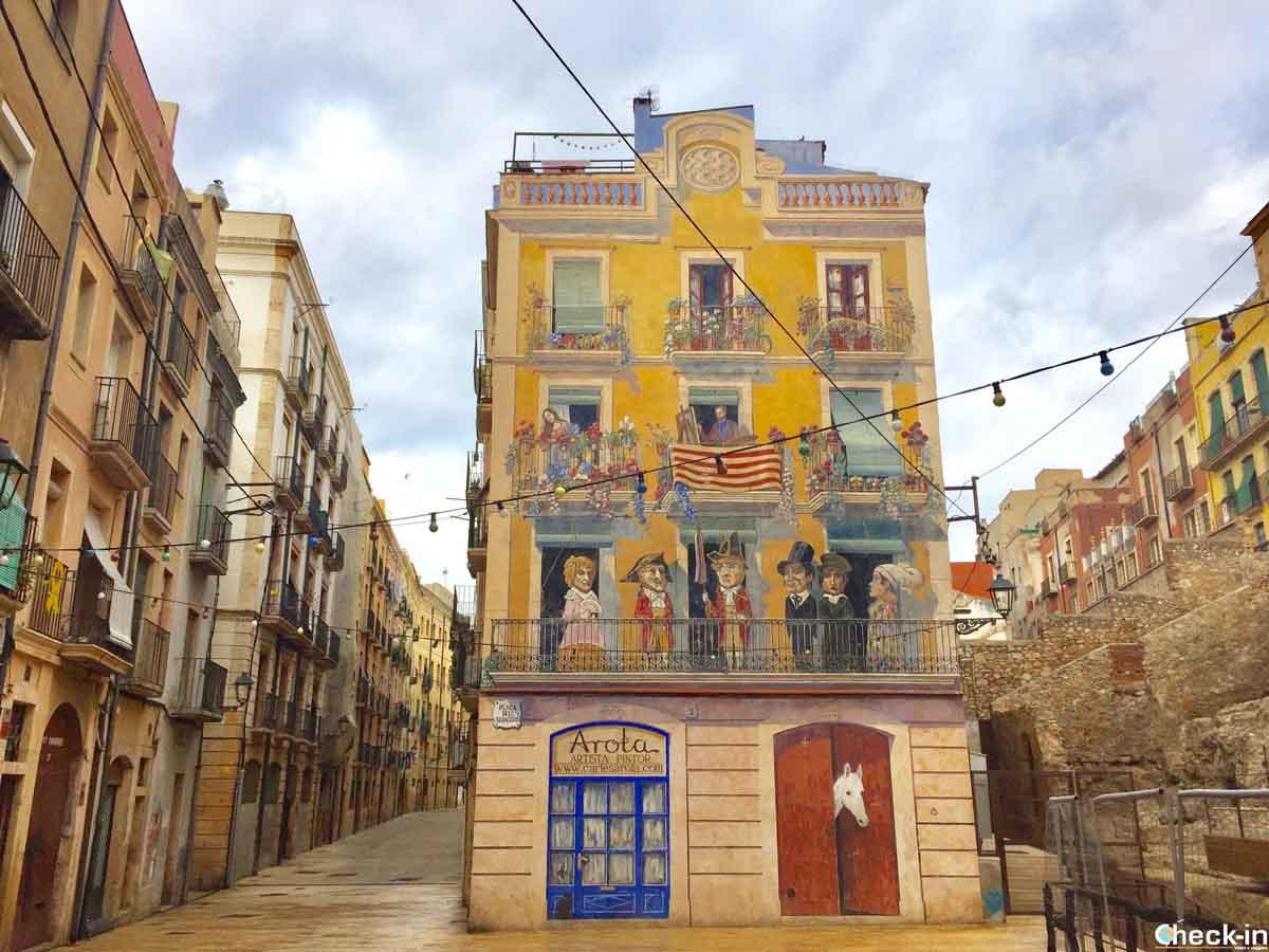 Plaça Sedassos - Tarragona medievale