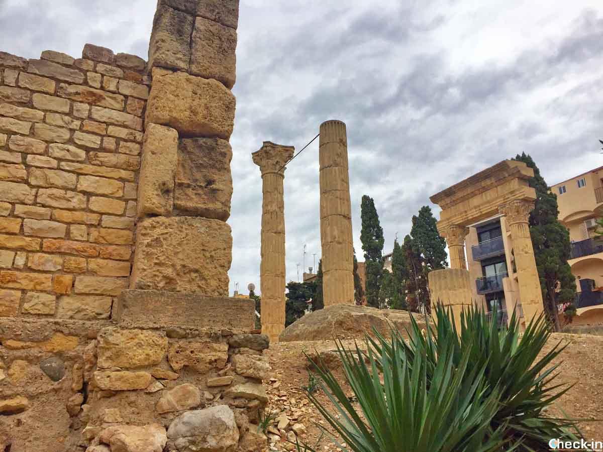 Resti del foro romano di Tarragona (Catalogna)