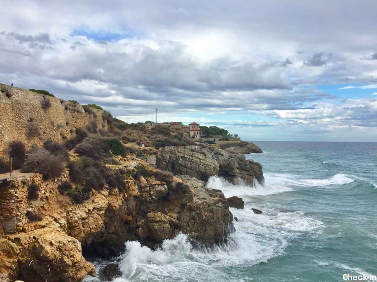 Camino de ronda e Fortín de la Reina a Tarragona (Catalogna)