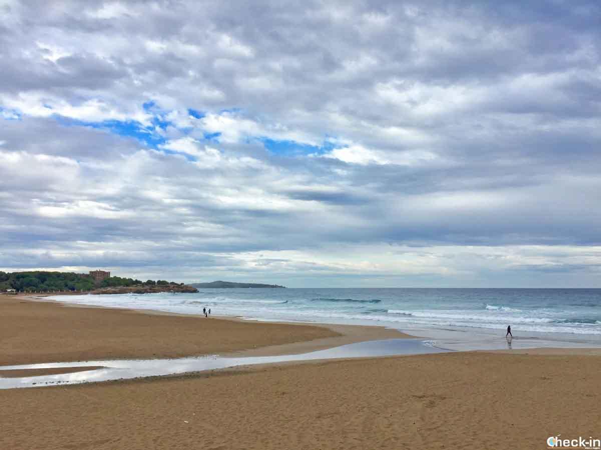 Spiaggia dell'Arrabassada - Tarragona, Costa Daurada (Spagna del nord)