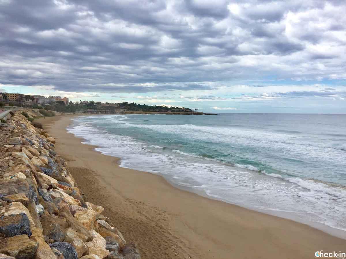 Dove andare al mare a Tarragona: Platja del Miracle, Costa Daurada