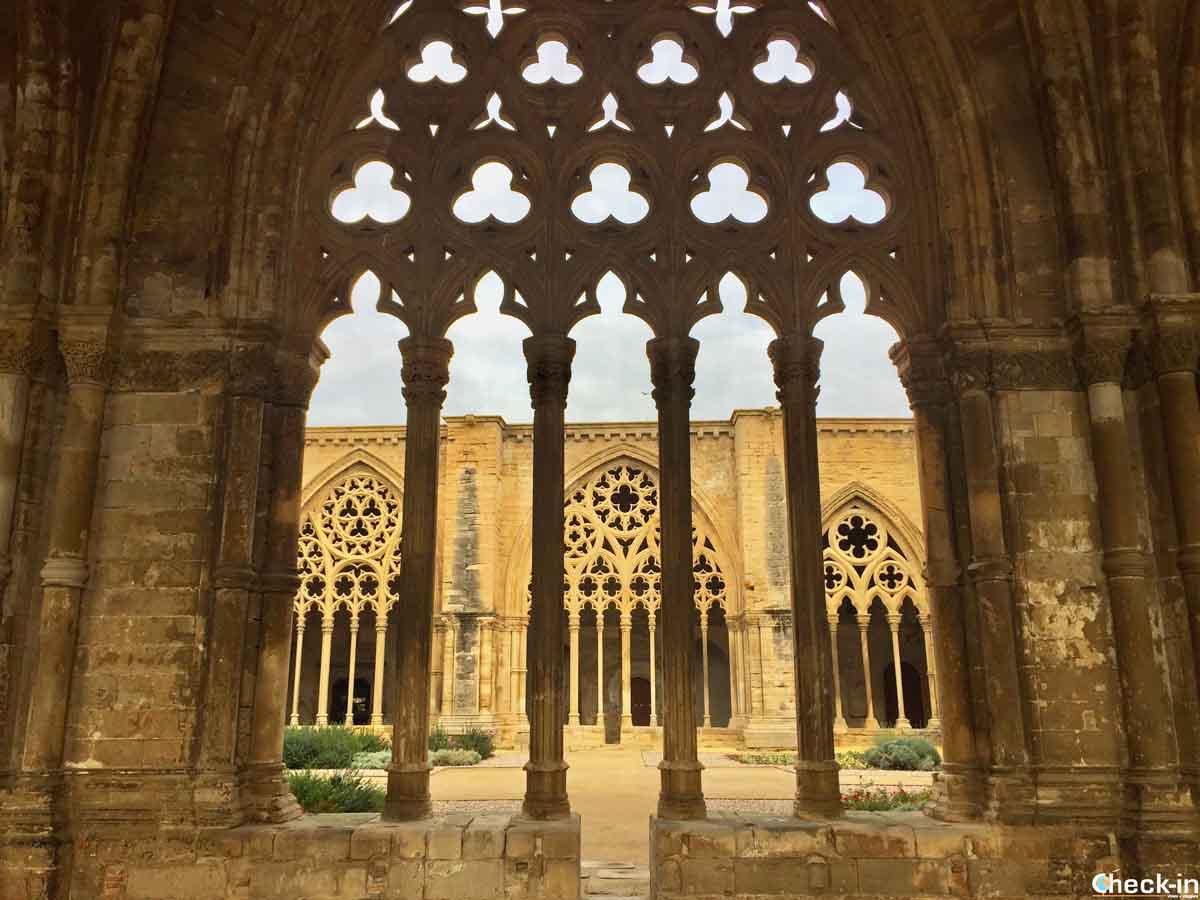 Chiostro della Cattedrale Vecchia di Lleida (o Lérida) in Catalogna