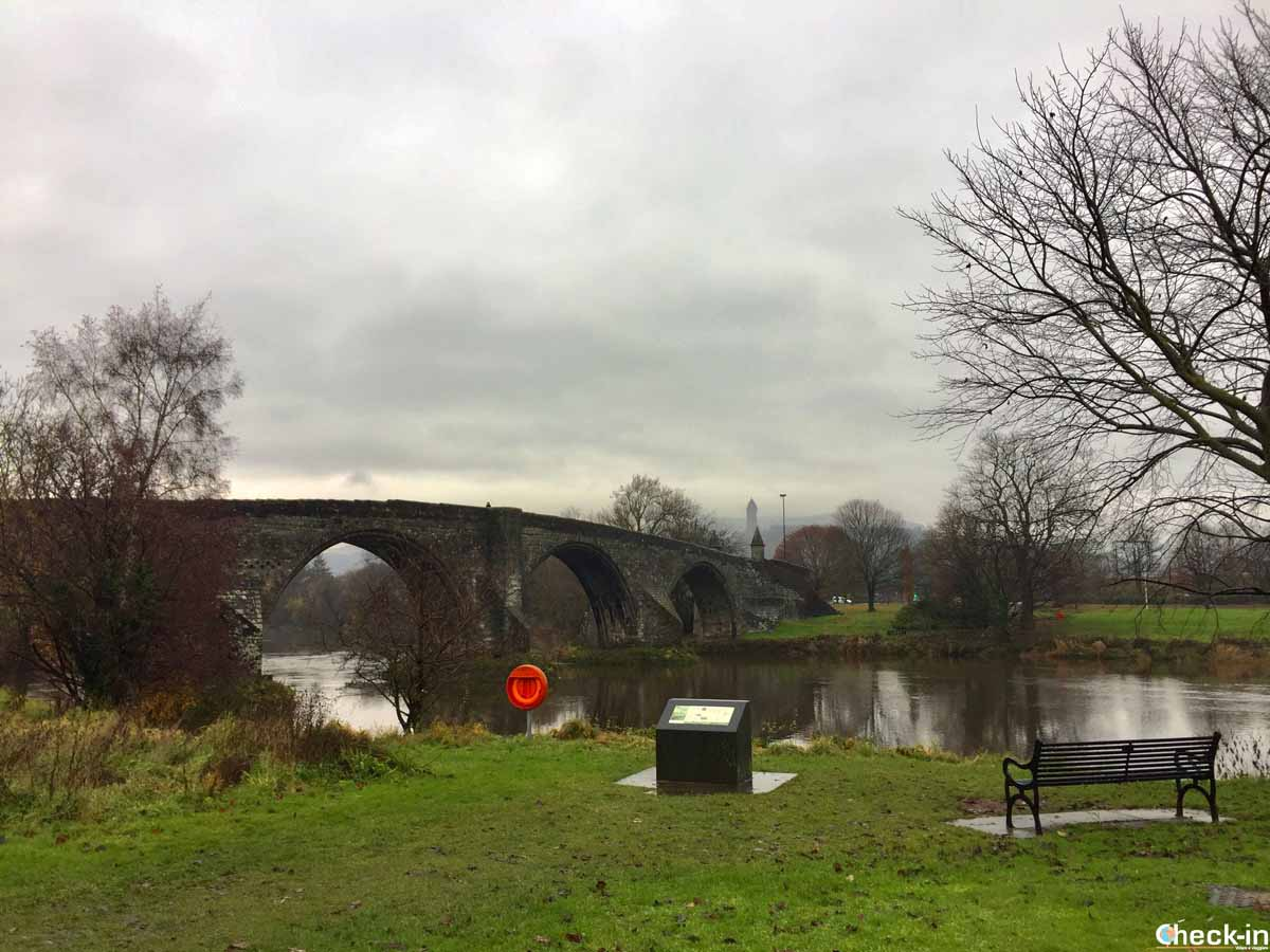 Ponte di Stirling dove vinse William Wallace contro gli inglesi