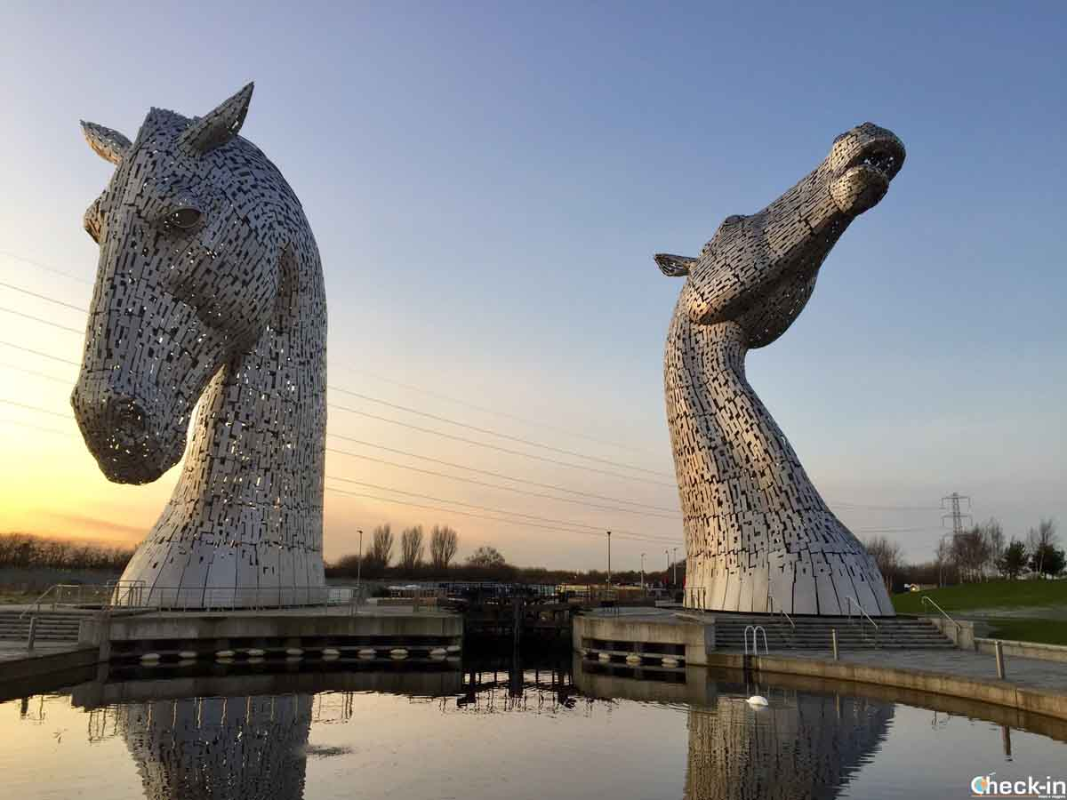 Itinerario di viaggio in Scozia centrale: i Kepies a Falkirk