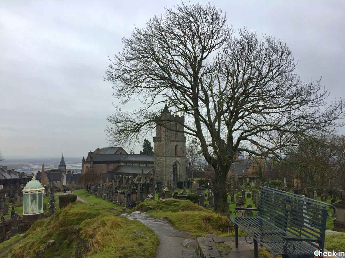 La Chiesa di Holy Rude vicino al castello di Stirling