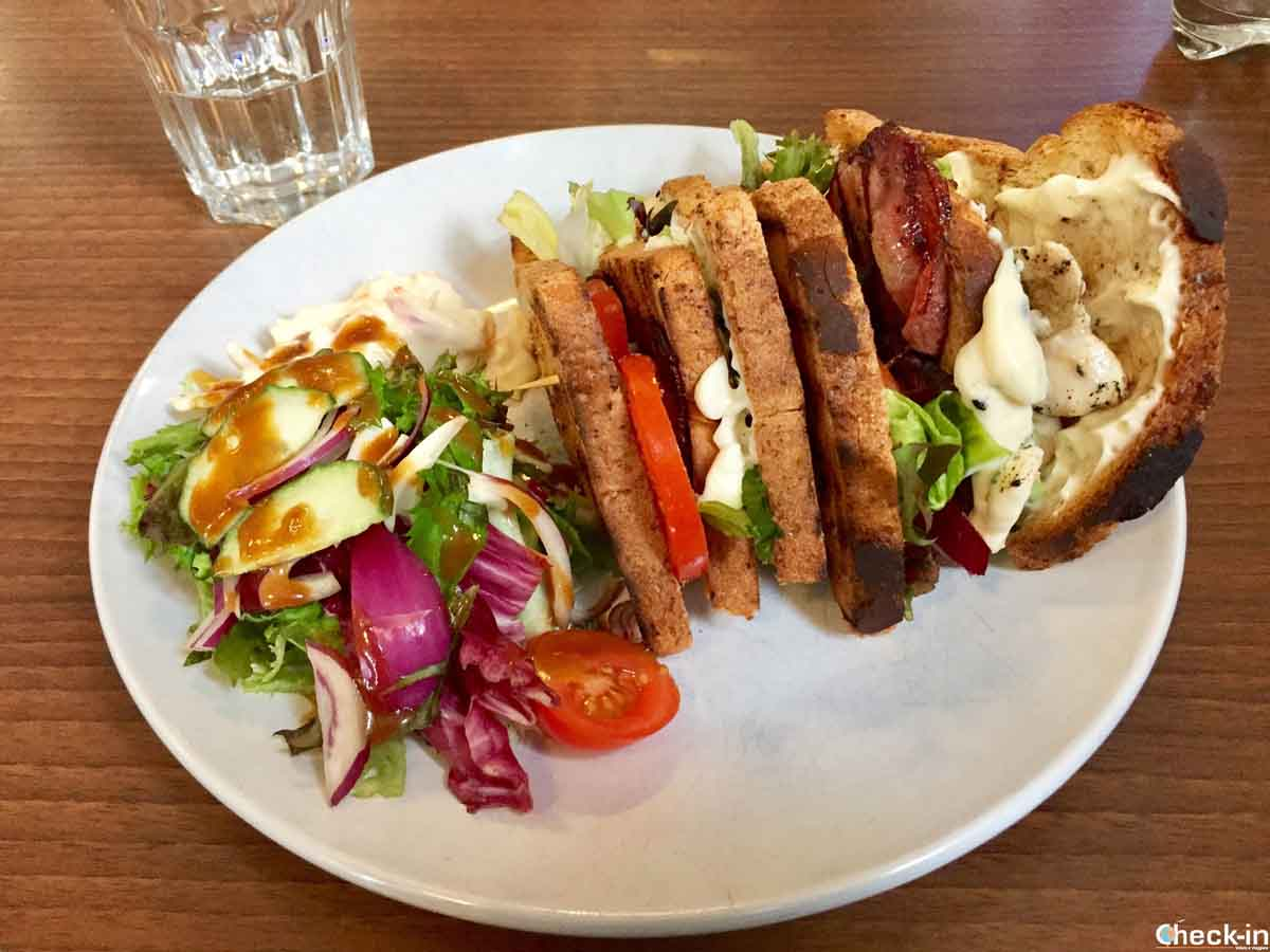 Club Sandwich al Finnegans - Falkirk Hub Business