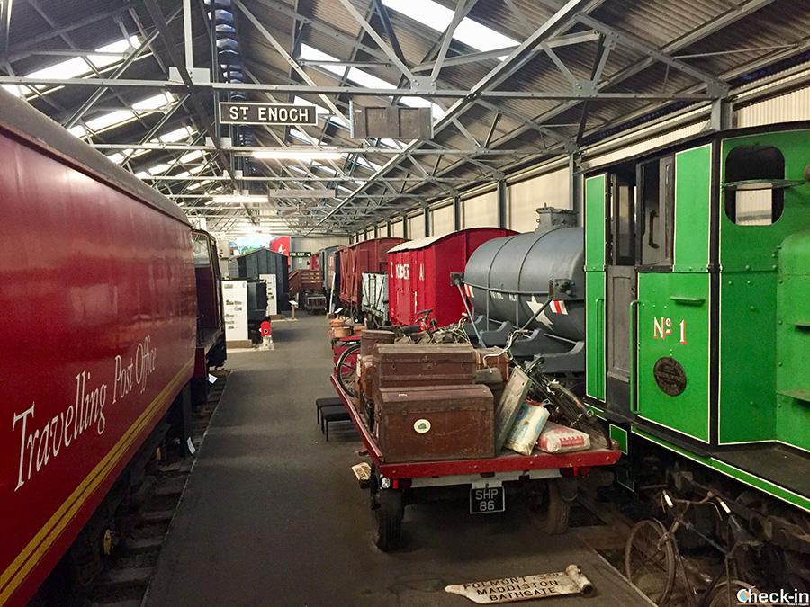 Visita del Museo delle Ferrovie scozzesi a Bo'ness