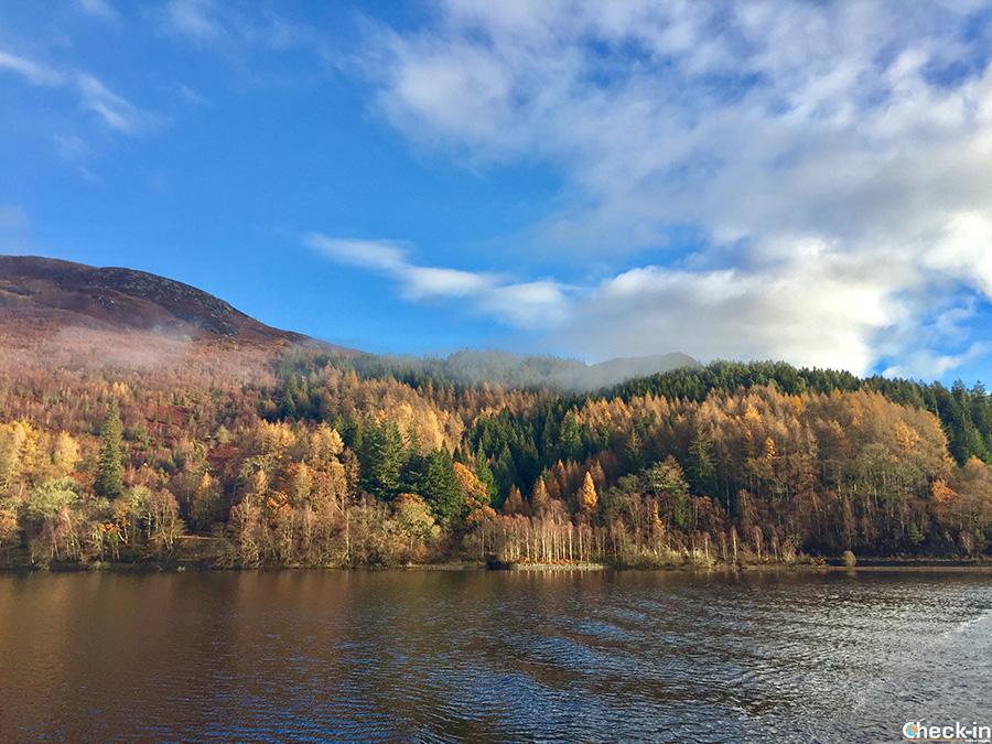 Natura mozzafiato scozzese - Loch Katrine