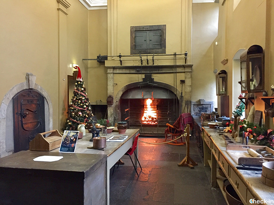 "La cucina ""georgiana"" della Calledar House - Falkirk, Scozia"
