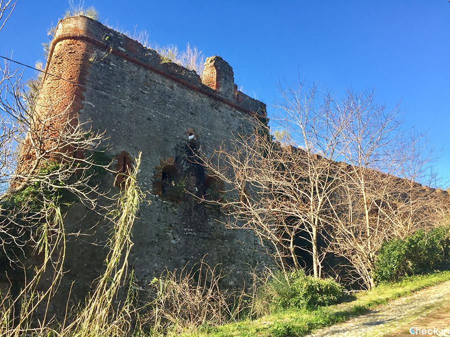 Forte Crocetta (in rovina) - Parco Urbano delle Mura e dei Forti di Genova