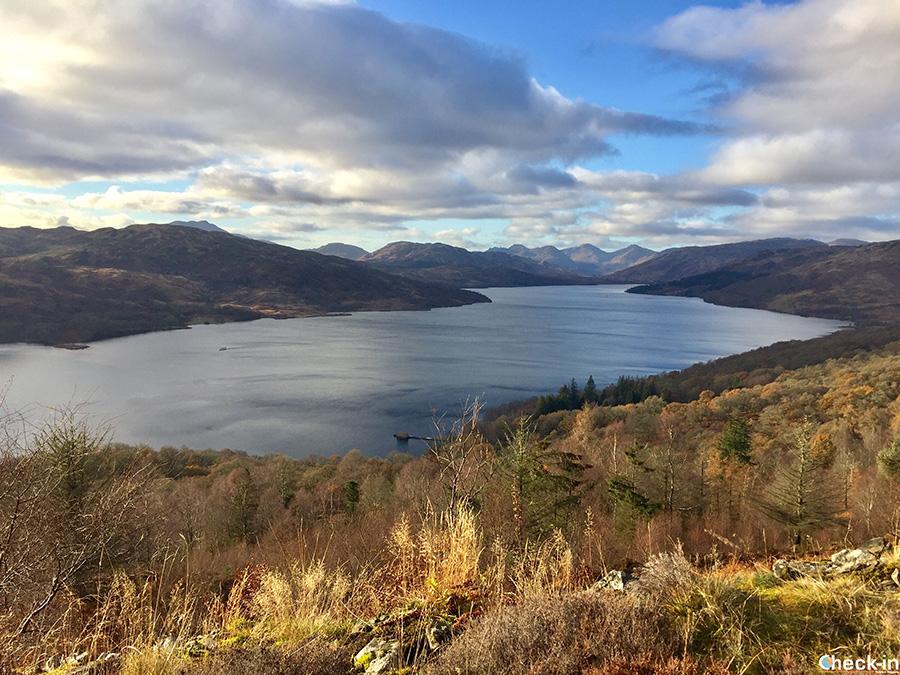 Escursionismo in Scozia - Primrose Hill, Loch Katrine