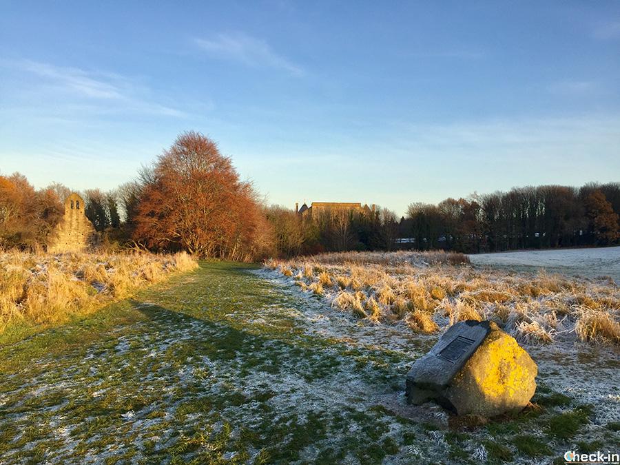 Kinneil Estate ed il Vallo di Antonino vicino a Falkirk
