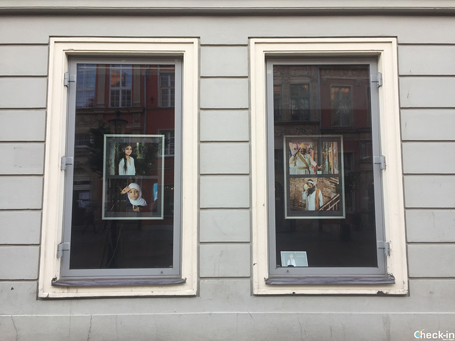 Il TwO Windows Theatre in centro a Gdansk