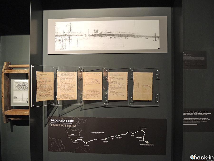 Reperti storici dei campi di prigionia sovietici (Danzica, Polonia)