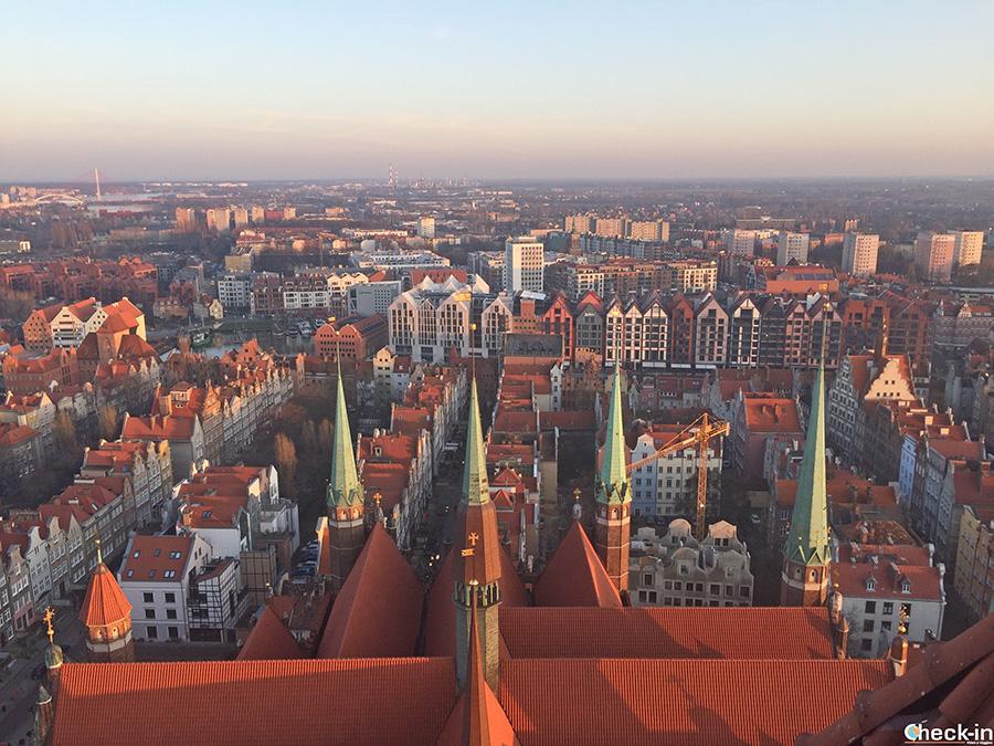 Salita sul campanile della Chiesa di S. Maria a Danzica