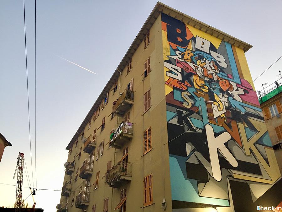 Itinerario street art a Genova Certosa (Rivarolo)