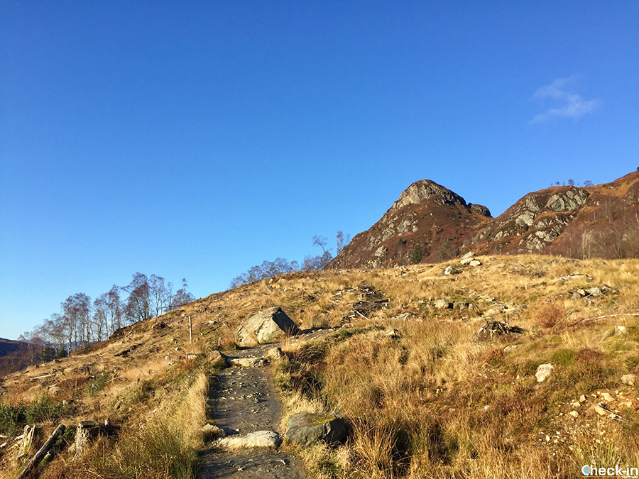 Trekking nel Loch Lomond & Trossachs National Park in Scozia