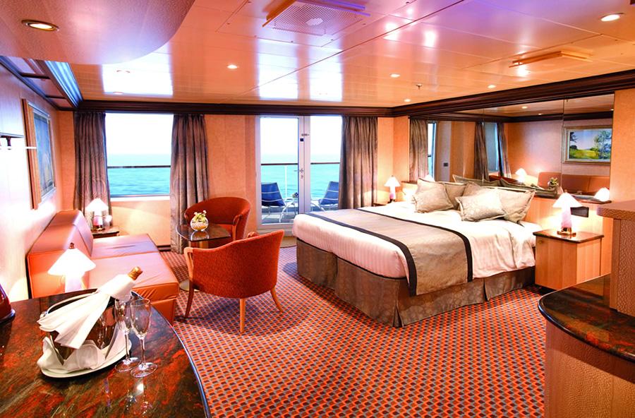 Comfort e servizi di una nave da crociera