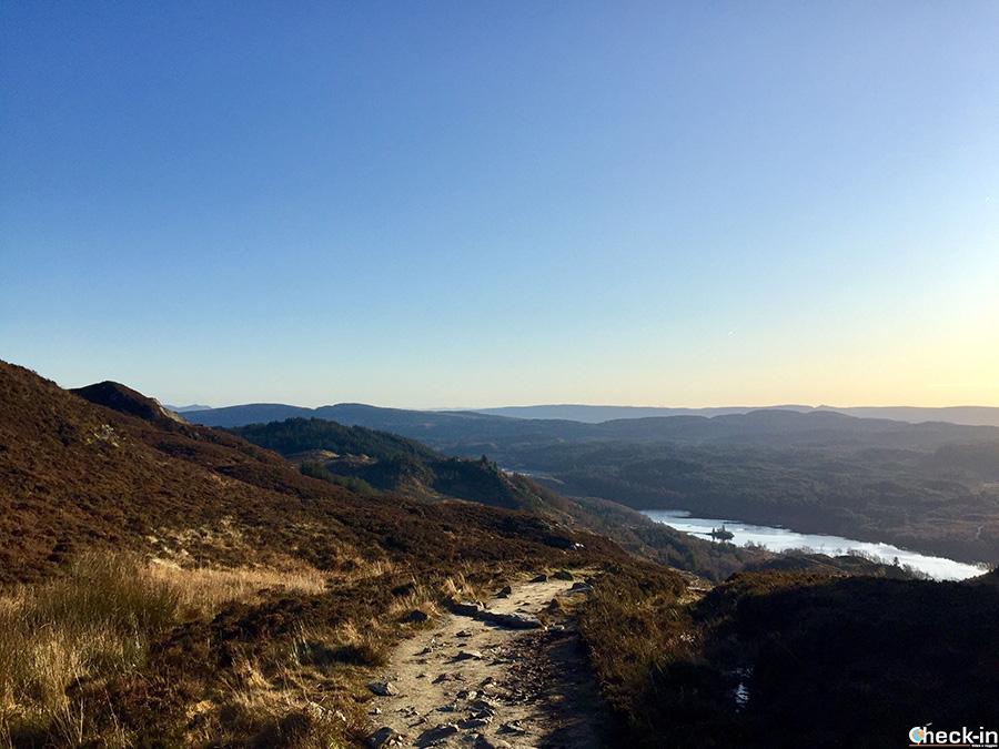 Loch Achray, vicino al Loch Katrine