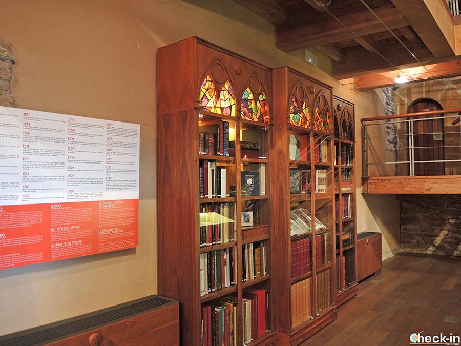 Visita del Castello di Ponferrada e la Biblioteca dei Templari
